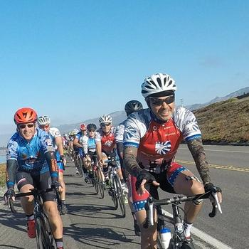 Participating in the 2018 Project Hero California Challenge. A ride from Santa Cruz to Ventura to benefit injured Veterans and First Responders through cycling.