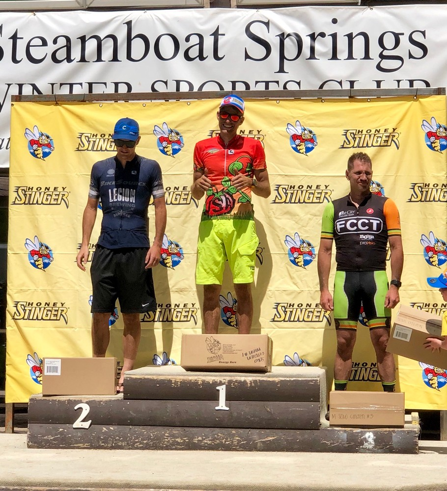 Stinger podium
