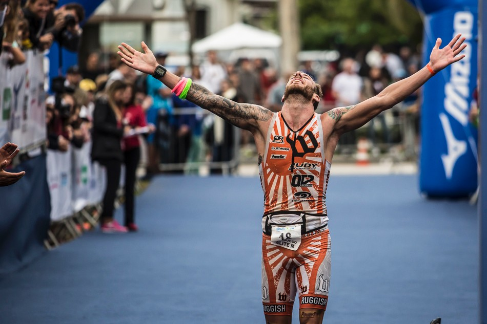 Athletes: AJ Baucco (Triathlon) | Team Stages