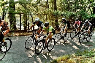 Me in green at local crit