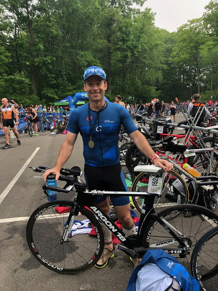 TriRidgefield Elite Wave 12th overall. Hit my goals but T1 wetsuit cost me an extra minute and the top 10 finish I was seeking.  Best run of my life, and 9th on the bike of 300. Shoulda worn a shorty! Great start to the season.