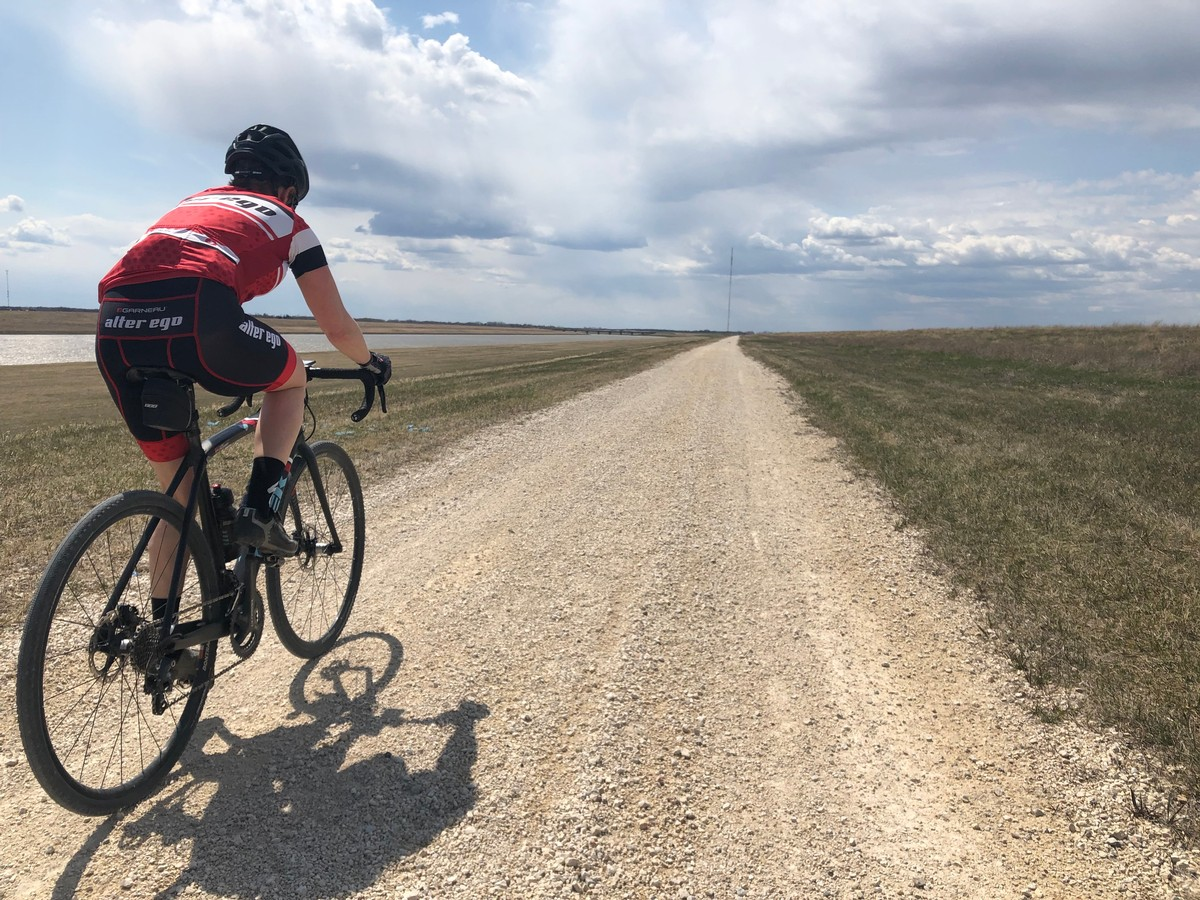 Floodway gravel ride
