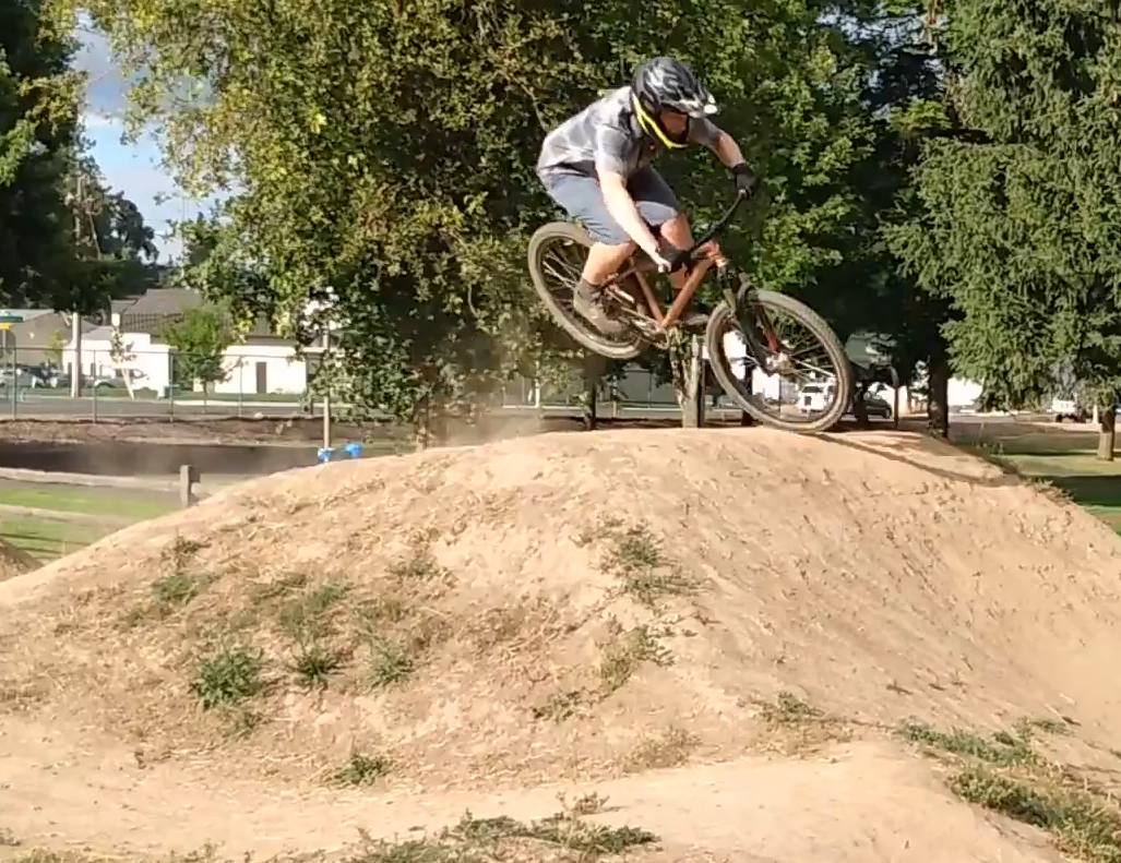 Cross Training at the Pump Track