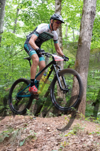 Taylor Gonsoulin, Blankets Creek Dirty 30 MTB race on 6/27/20 in Woodstock, GA hosted by Mountain Goat Adventures