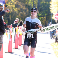 Brooklyn duathlon finish Nov 2018
