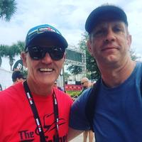 John K. and Mike Reilly, the voice of Ironman